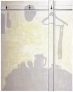 高松次郎 影A 211.0x168.0x12.0cm 1964年作